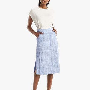 MM Lafleur Willoughby Pleated Skirt Black Size 12